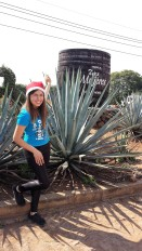 Christina, my tequila tour guide